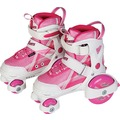 New Sports NSP Inliner''Beginner'',pink-weiß,Gr.2