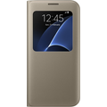 Samsung S View Cover für Galaxy S7 edge, gold