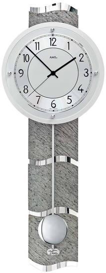 AMS 5216 Wanduhr Funk-Pendeluhr - Serie: AMS Design