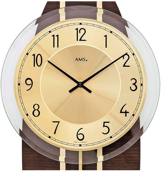 AMS 7421 Wanduhr Quarz-Pendeluhr - Serie: AMS Design
