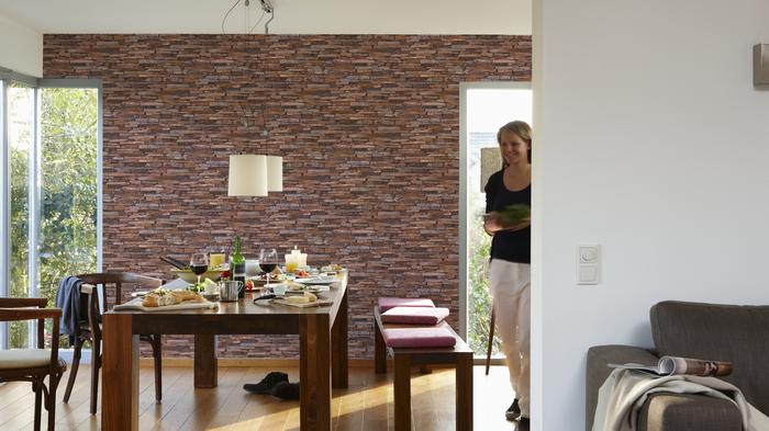 Bilder - AS Création Mustertapete Wood`n Stone, Tapete ...