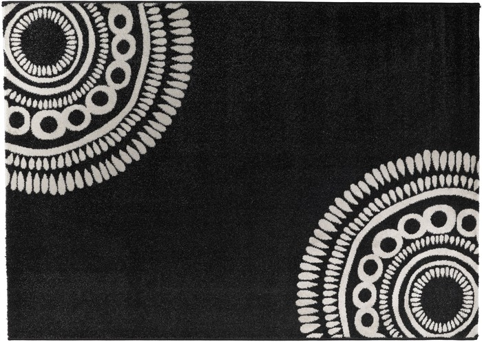 Teppich schwarz weiss preisvergleiche erfahrungsberichte und kauf bei nextag - Baumwollteppich schwarz weiay ...
