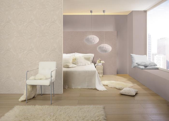 bilder barbara becker vliestapete b b home passion braun gold 716719 raumbild bild 2. Black Bedroom Furniture Sets. Home Design Ideas