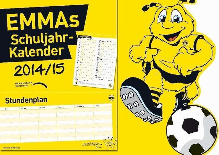 Sonstige Borussia Dortmund: EMMAs Schuljahr-Kalender 2014/15 ISBN 3730701541