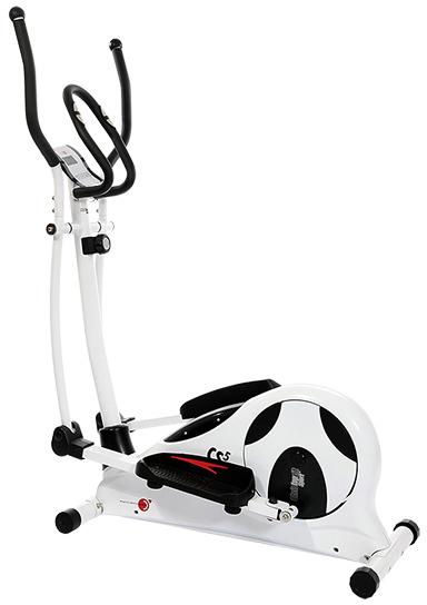 Christopeit Crosstrainer CS 5, Farbe weiß / schwarz 30-99252