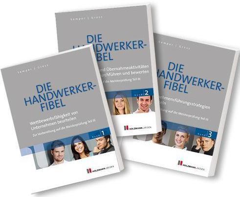 Sonstige Die Handwerker-Fibel Band 1-3 52. Auflage ISBN 3778308580