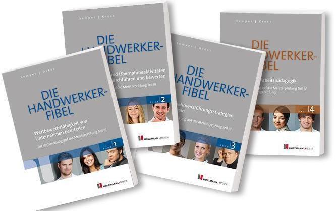 Sonstige Die Handwerker-Fibel Band 1 - 4 52. Auflage ISBN 3778308572