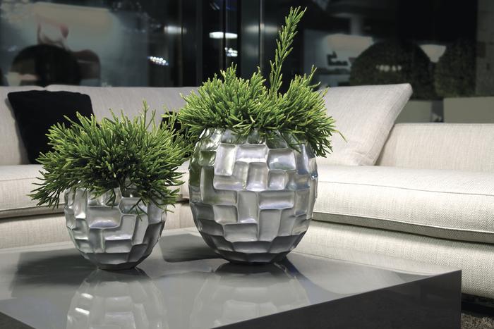blumentopf silber preisvergleiche erfahrungsberichte. Black Bedroom Furniture Sets. Home Design Ideas