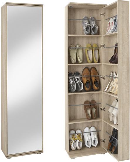 schuhschrank mit spiegelfront preisvergleiche. Black Bedroom Furniture Sets. Home Design Ideas