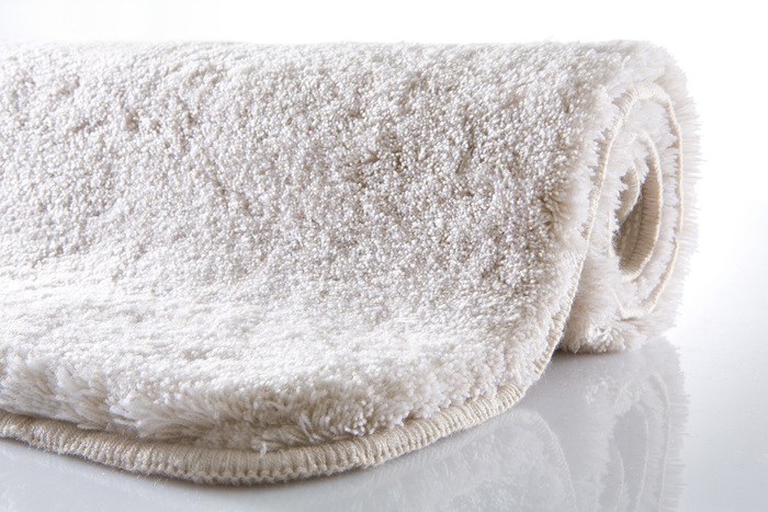 Kleine Wolke Badteppich Relax Bast rund 100 cm