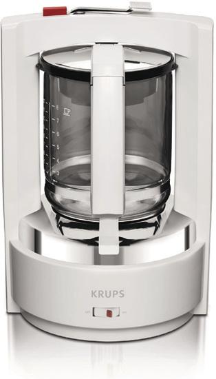 Krups Kaffeeautomat T8 F468-01 weiß F4680111