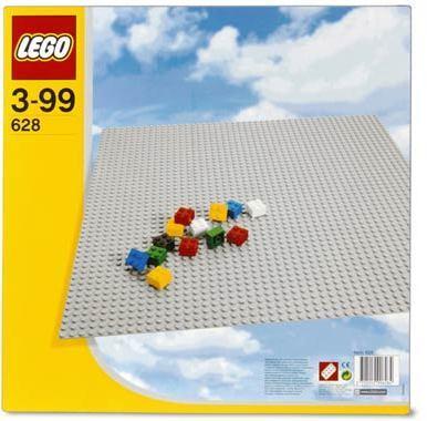 LEGOŽ STEINE & CO Bauplatte - Asphalt 628