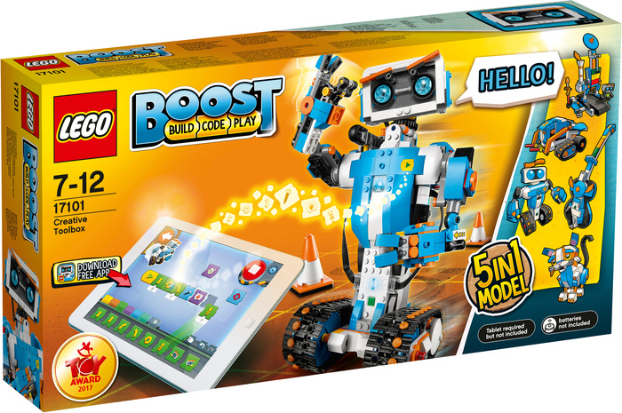 LEGOŽ BOOST 17101 Programmierbares Roboticset