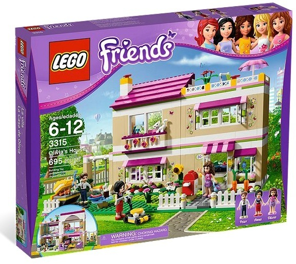 LEGOŽ FRIENDS Traumhaus 3315