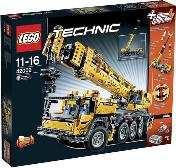 LEGOŽ Technic 42009 Mobiler Schwerlastkran