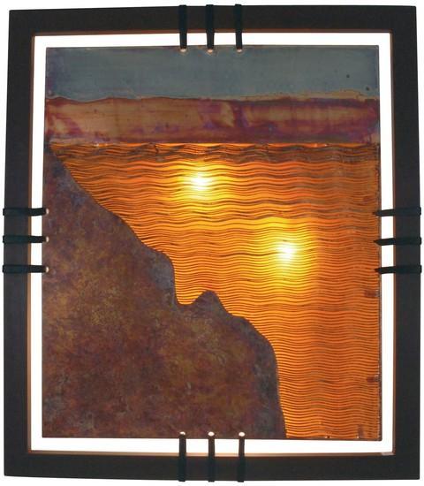 Beleuchtete wandbilder sonstige preisvergleiche for Dekoartikel metall
