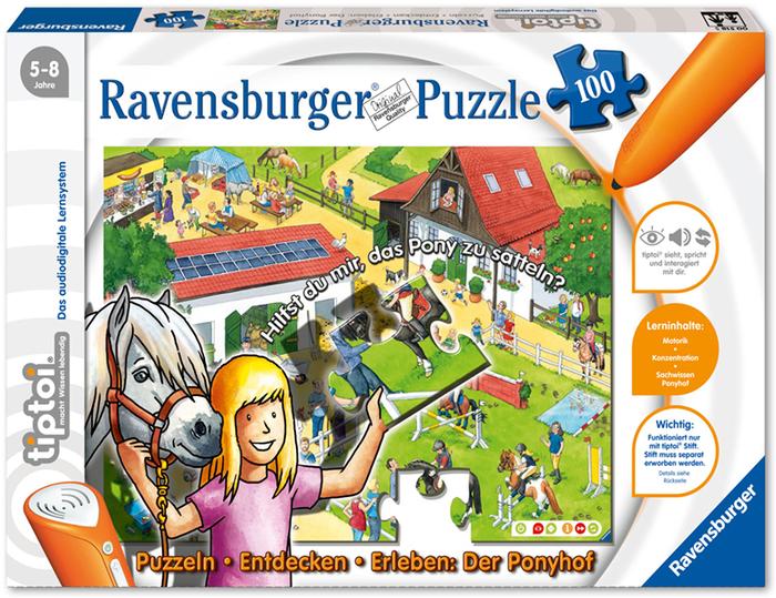 Ravensburger tiptoi Puzzlen, Entdecken,