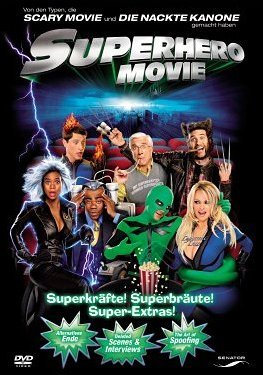 Senator Superhero Movie, DVD