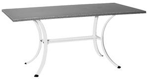 Sun Garden Untergestell zu Tisch York, weiß, zu Tischplatte 160x90 cm 10063781