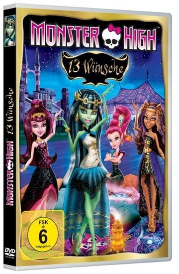 Universal Pictures Monster High - 13 Wünsche, DVD