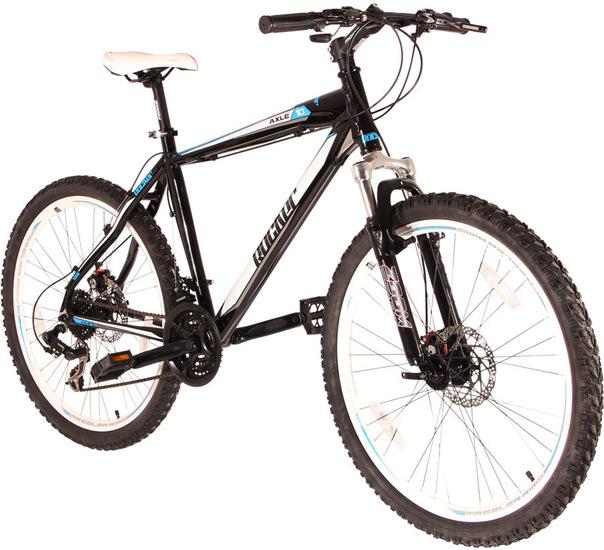 """VCM 26 Zoll Mountainbike """"AXLE 1.0"""" Schwarz-Blau 901634"""