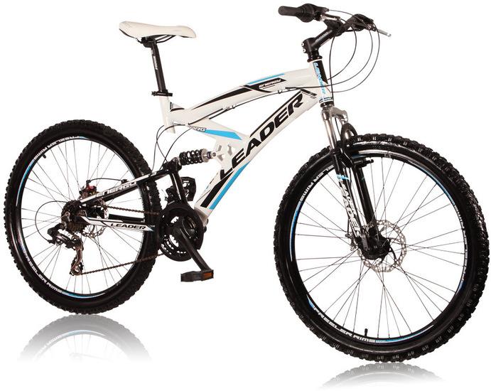 """VCM 26 Zoll Mountainbike """"ENERGY"""" Weiss-Schwarz-Blau 901624"""