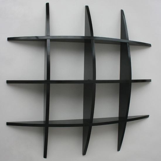Regal hochglanz schwarz preisvergleiche for Regal schwarz hochglanz