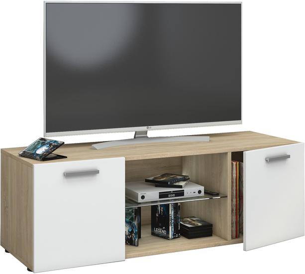 Tv lowboard weiß holz  Tv lowboard weiß holz »–› PreisSuchmaschine.de