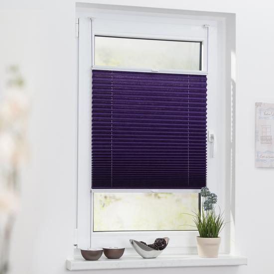 bilder lichtblick plissee klemmfix top ohne bohren. Black Bedroom Furniture Sets. Home Design Ideas
