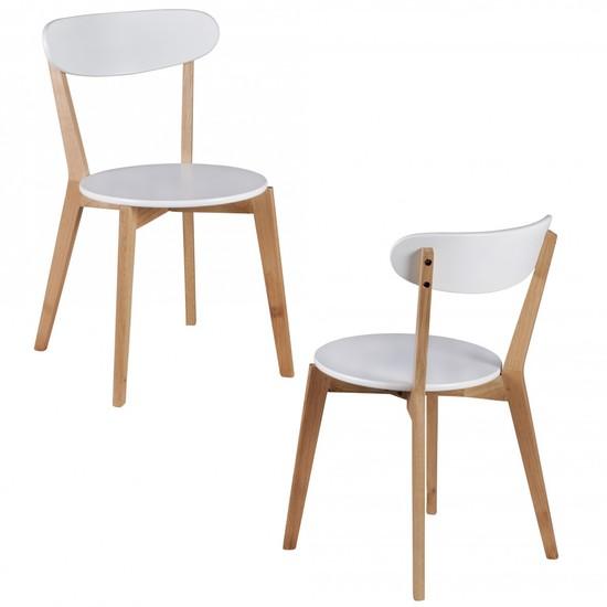 retro st hle wei. Black Bedroom Furniture Sets. Home Design Ideas