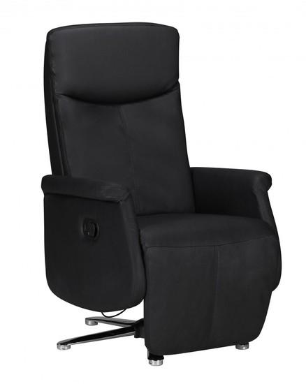 relaxsessel leder schwarz preisvergleiche. Black Bedroom Furniture Sets. Home Design Ideas