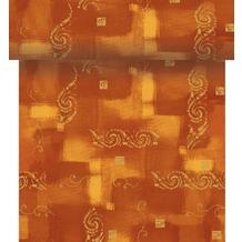 Duni Dunicel-Tischläufer 3 in 1, alle 40 cm perforiert, Motiv Vienna terracotta, 40 cm x 4,8 m