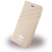 adidas Basics - Stand Case - Apple iPhone 7 Plus - Vapour Pink-Weiss