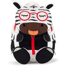 Affenzahn Gesichtchen Midi Rucksack Zebra Zena 009 schwarz/weiß