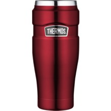 THERMOS Isolierbecher Stainless King, Cranberry 0,47 l