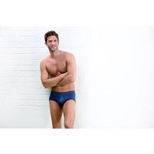 AMMANN Slip mit Eingriff, Serie Jeans, dunkelblau Gr. 5