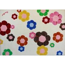 Andiamo Kinder-Teppich Flower Power 133 x 190 cm