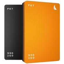 Angelbird SSD2go PKT externe 256GB SSD - USB-C - TRIM-Support - orange