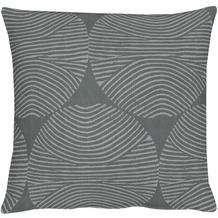APELT Circle Loft Style Kissenhülle schwarz 40 cm x 40 cm