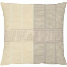 APELT Cordo Loft Style Kissenhülle beige 49 cm x 49 cm