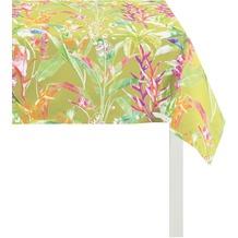 APELT Exotic Floral Living grün 88 cm x 88 cm