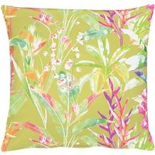 APELT Exotic Floral Living Kissenhülle grün 46 cm x 46 cm