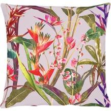 APELT Exotic Floral Living Kissenhülle rot 46 cm x 46 cm