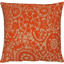 APELT Granada Modern Ethno Kissenhülle orange 46 cm x 46 cm