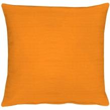 APELT Kissenhülle Uni Basic, orange 40 cm x 40 cm