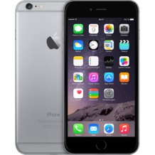 Apple iPhone 6 Plus, 16GB, spacegrau