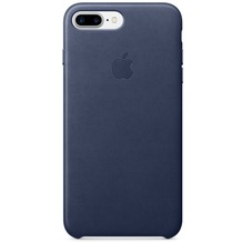 Apple iPhone 7 Plus Leather Case, Midnight Blue