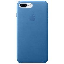 Apple iPhone 7 Plus Leather Case, Sea Blue