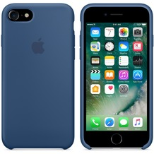 Apple Silicone Case für iPhone 7 - ozeanblau