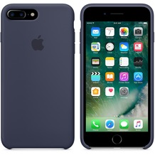 Apple Silicone Case für iPhone 7 Plus - mitternachtsblau